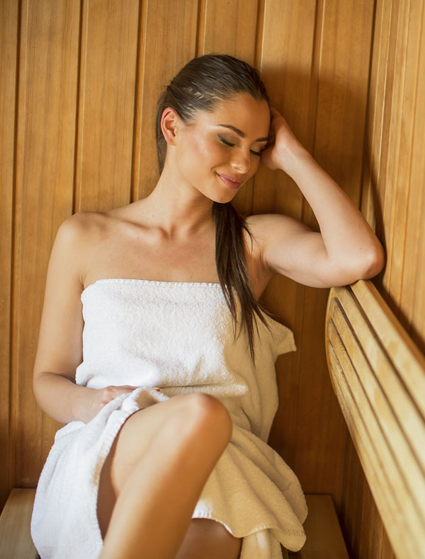 Antoperla Spa in Santorini – Sauna