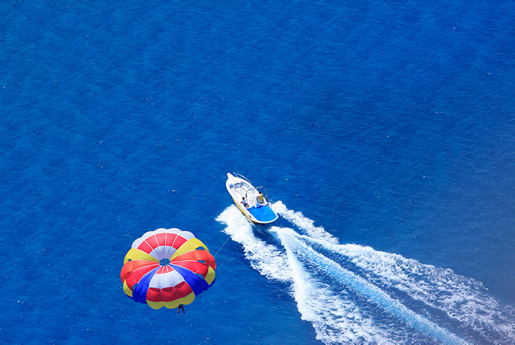 Santorini, Greece for Water Sports Enthusiasts