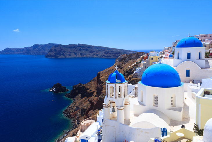 Top 10 Churches in Santorini