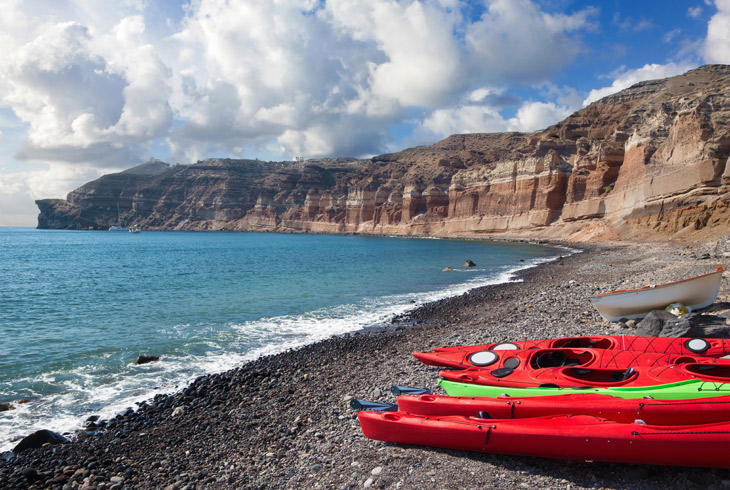 Santorini Sea Kayak Adventures - Getting Introduced to Santorini's Most Idyllic Settings